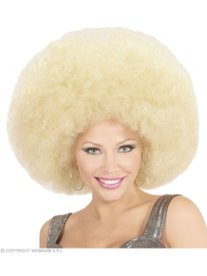 Super Afro, blond