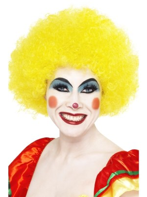 Crazy clown wig gul