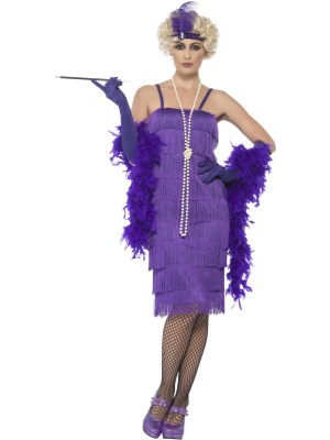 20 Talls Flapper Dress, Lilla