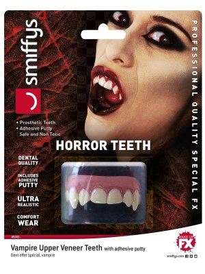 Horror Teeth Vampire White