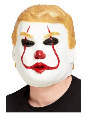 Donald Trump Killer Clown Maske