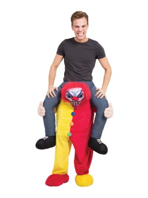 Scary Clown Piggyback
