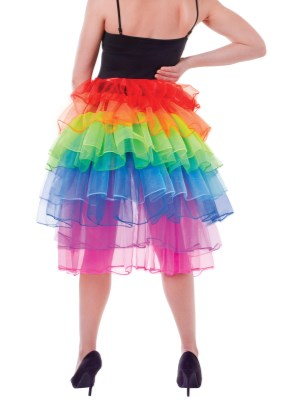 Rainbow Bustle Skirt