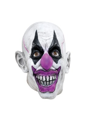 Scary Clown Maske Deluxe Latex