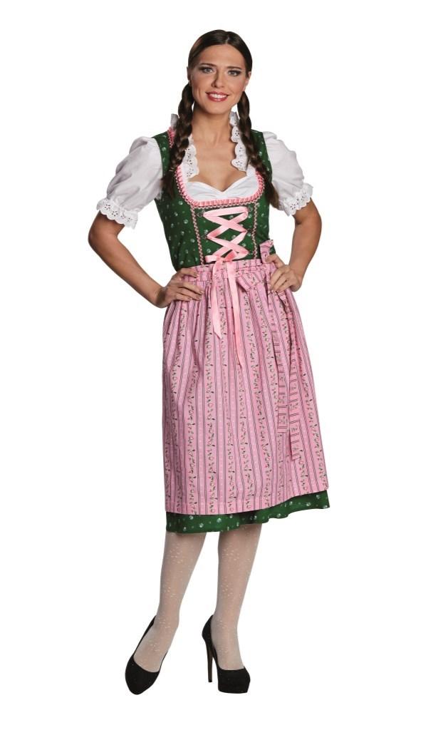 b5c042fb Oktoberfestkjole grønn med rosa forkle - A Oksnes AS