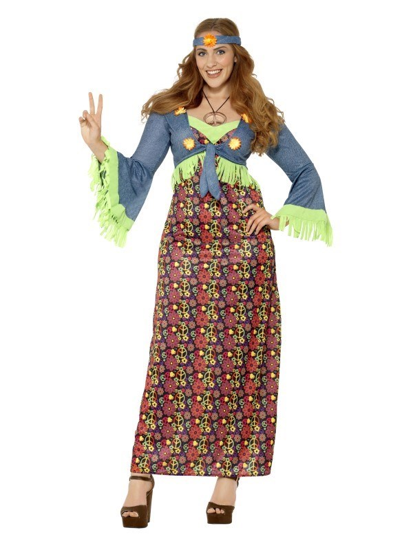 Hippie Lady Kostyme A Oksnes AS