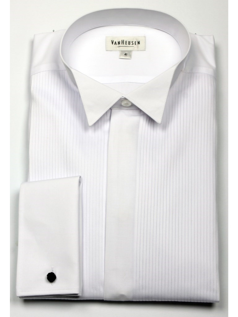 Classic Fit Smokingskjorte Hvit | Follestad
